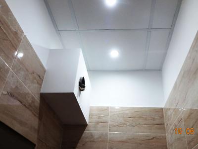 LED осветление на окачен таван