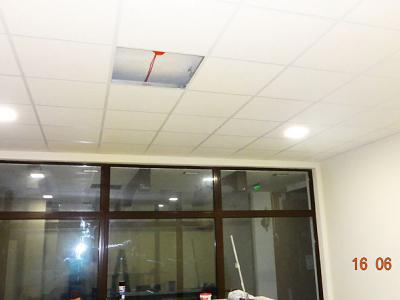 Монтаж на растарен таван